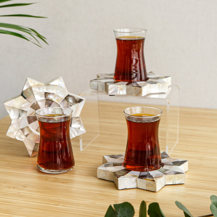 Pearl Tea set 6pcs