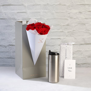 Urban To Go Cup with Roses