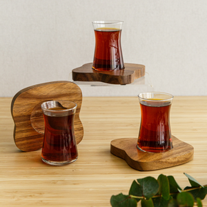 Wood Tea set 6pcs