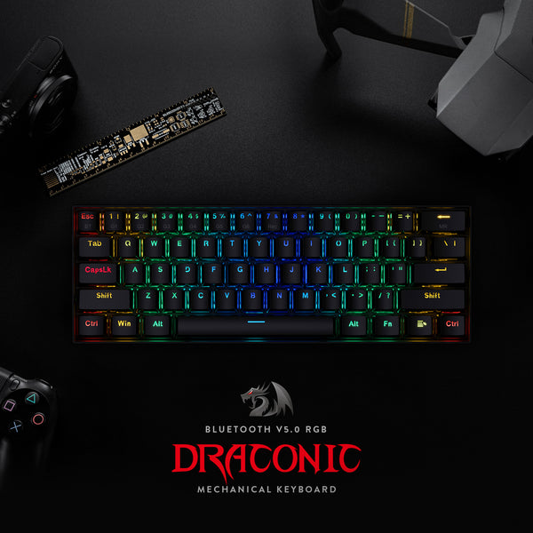 Review: Redragon K530 60% Wireless/Wired RGB Gaming Keyboard