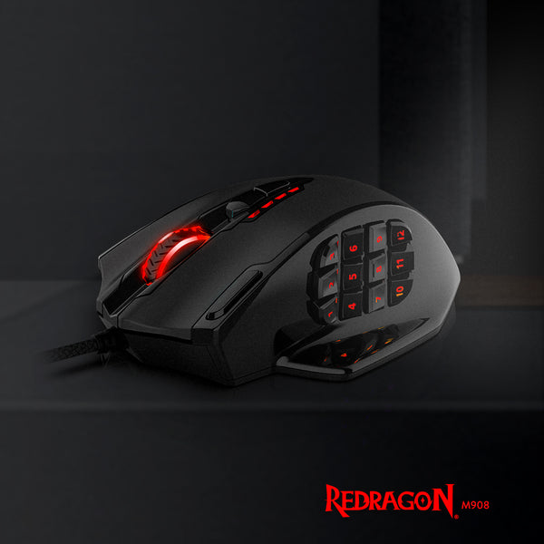 Redragon Impact MMO Gaming Mouse Review