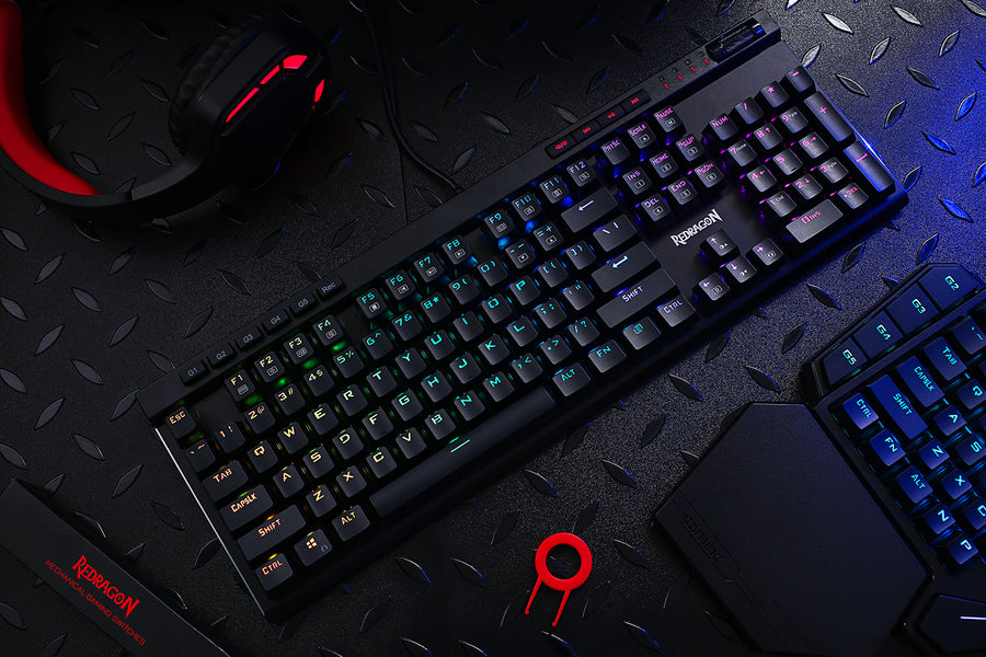 Upper Mid-tier Gaming Keyboard ---K580-PRO (Optical Brown Switches)