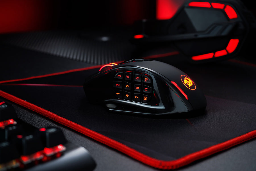 Redragon M908 IMPACT RGB LED MMO Mouse Vs Redragon M913 Impact Elite Wireless Gaming Mouse
