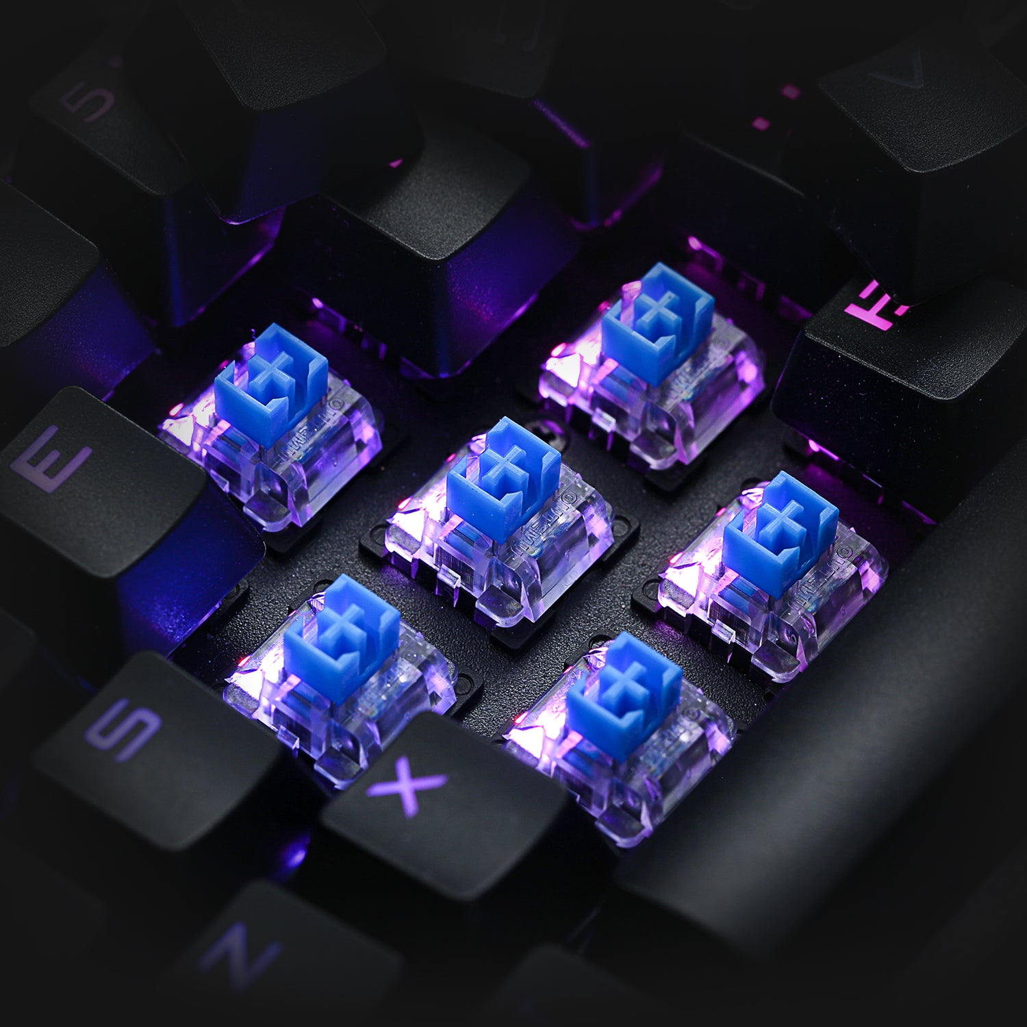 OUTEMU  blue switches
