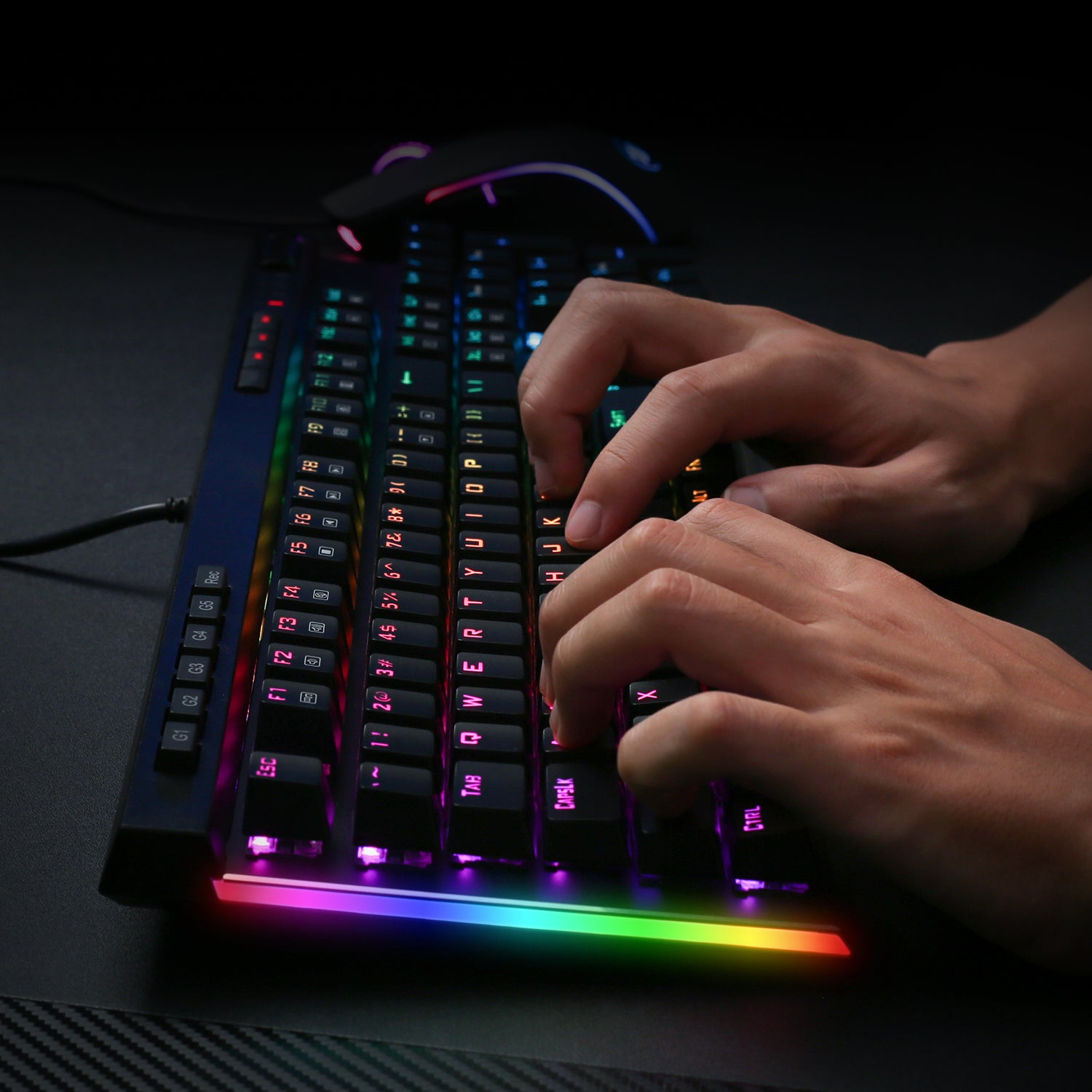 Redragon K580-PRO RGB Backlit Mechanical Gaming Keyboard