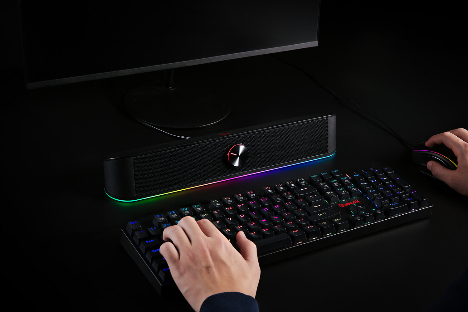 Redragon RGB sound bar