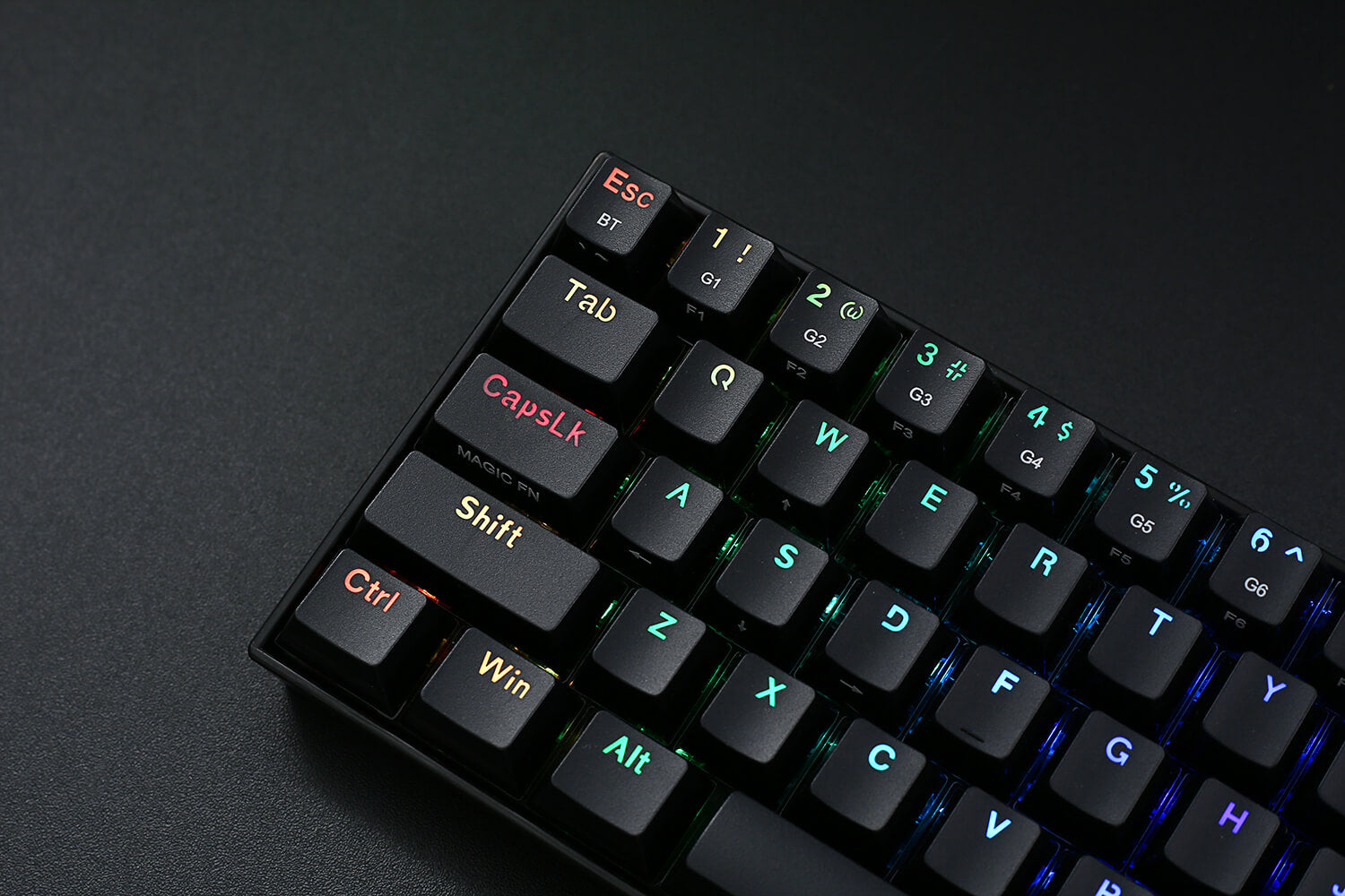 Redragon K530 Draconic 60% Compact RGB Wireless Mechanical Keyboard