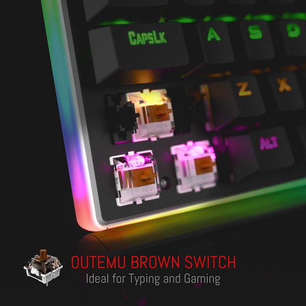 Redragon K577R Kali Mechanical Gaming Keyboard Tactile Brown Switches