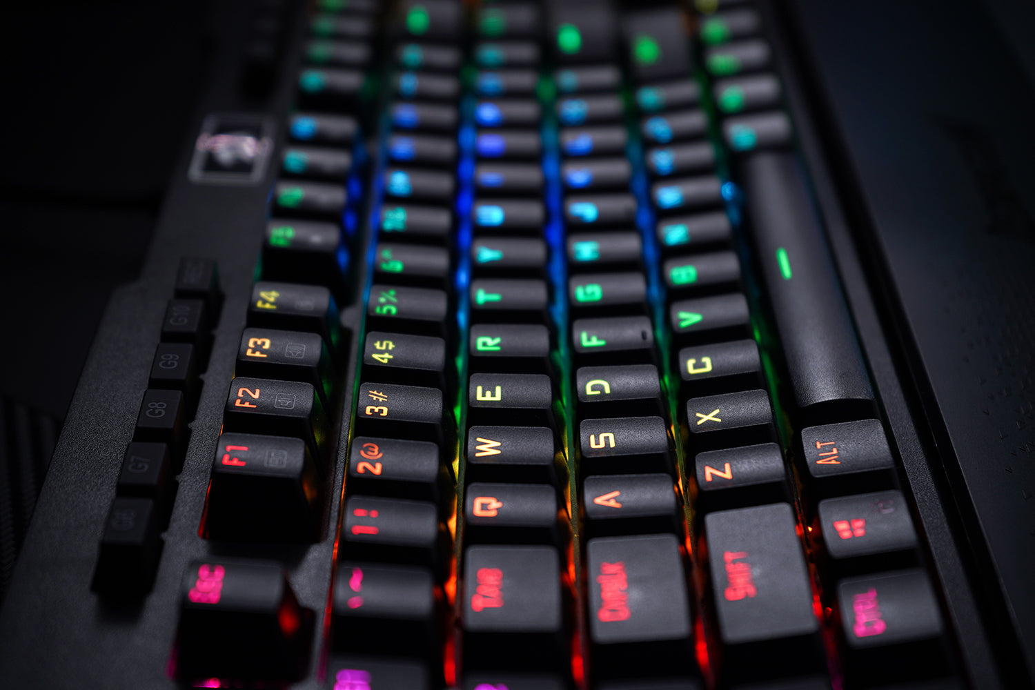 Redragon K586 Gaming Keyboard 16.8 Million RGB backlights with 18 modes