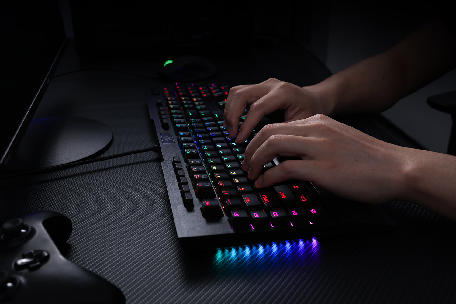 Redragon K586-pro Brahma RGB Mechanical Gaming Keyboard