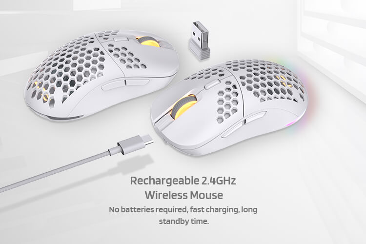 LTC Mosh Pit RGB ultra weight Wireless/Wired Gaming Mouse