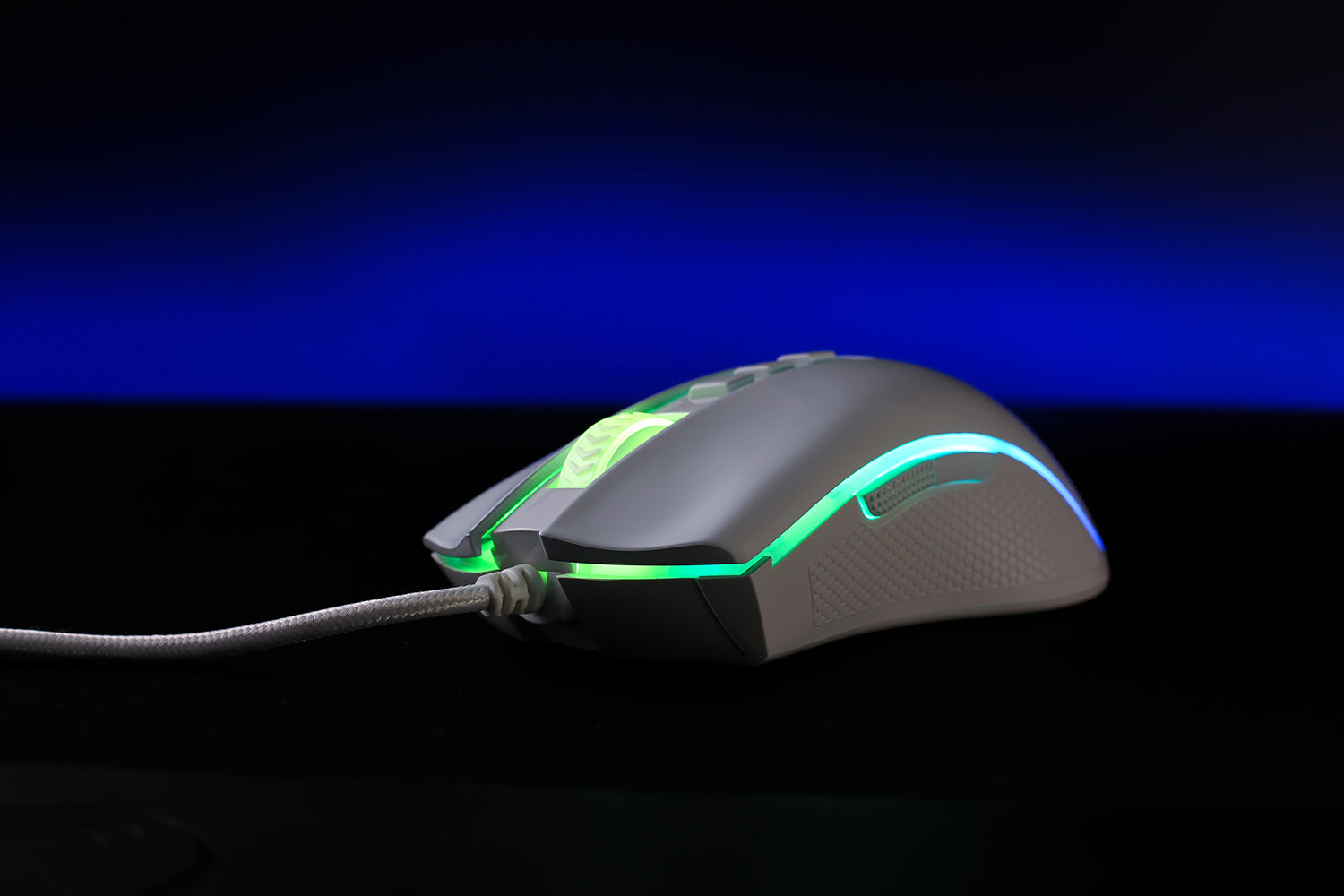 redragon white gaming mouse