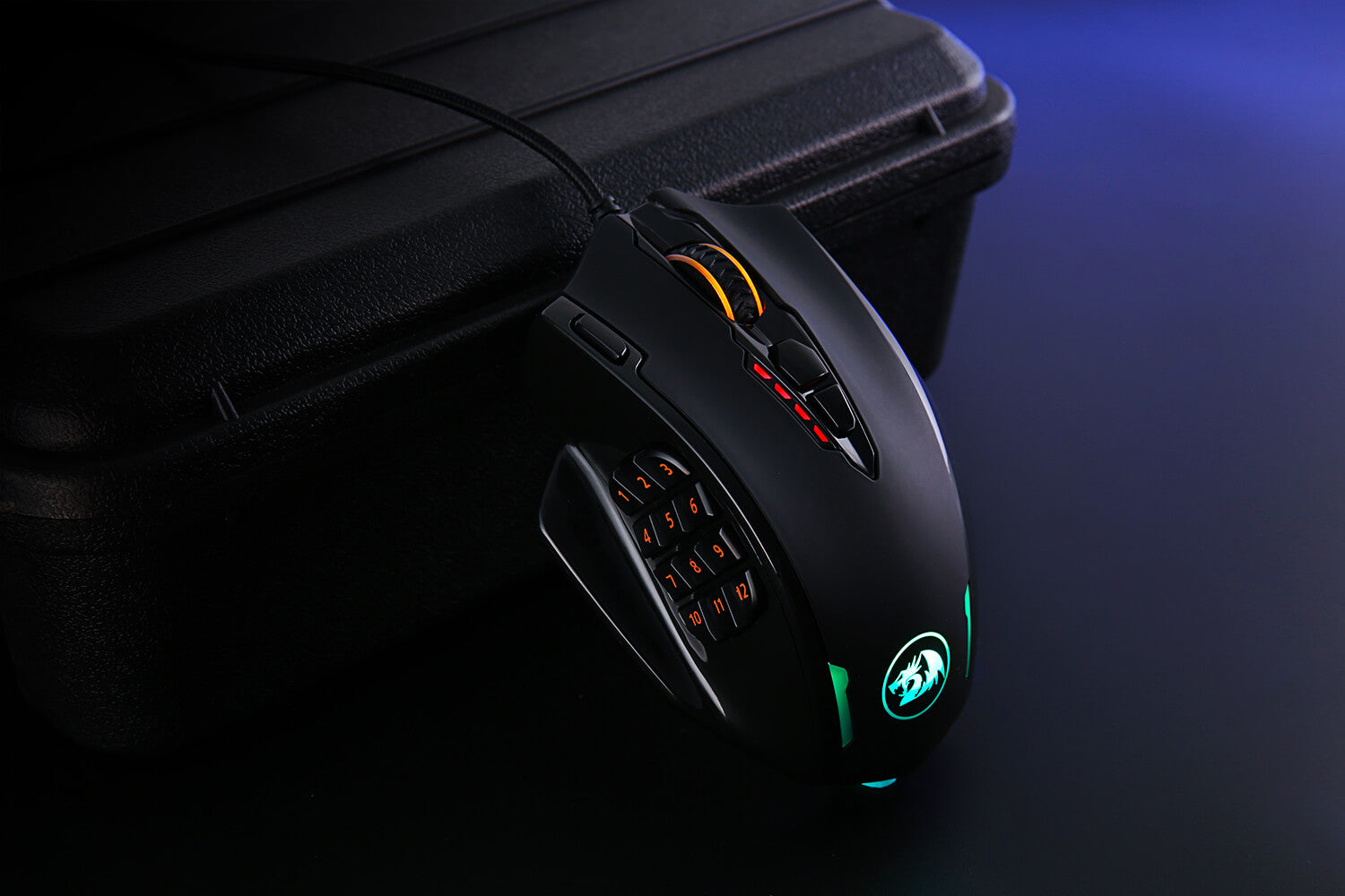 redragon gaming mouse m908 impact