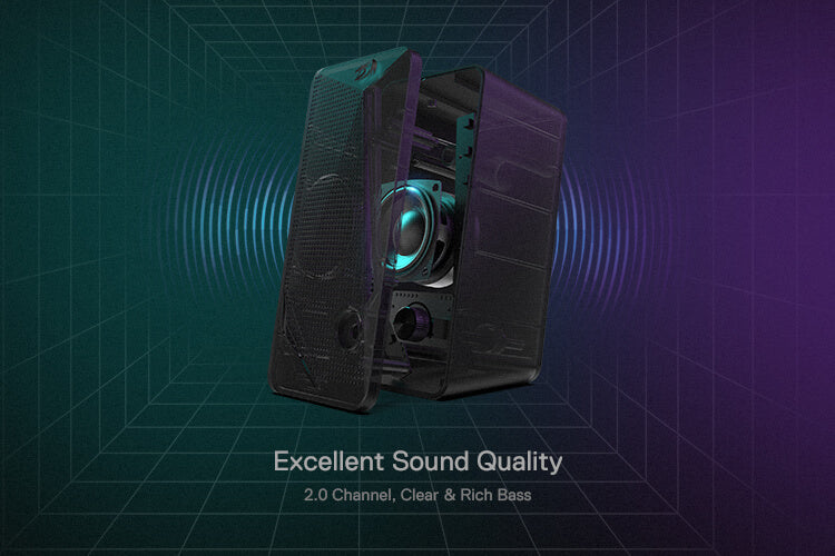 redragon rgb speakers