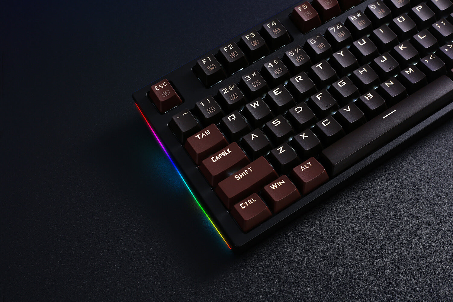 Redragon K592 Mechanical Gaming Wired Keyboard with Ultra Fast V-Optical Blue Switches
