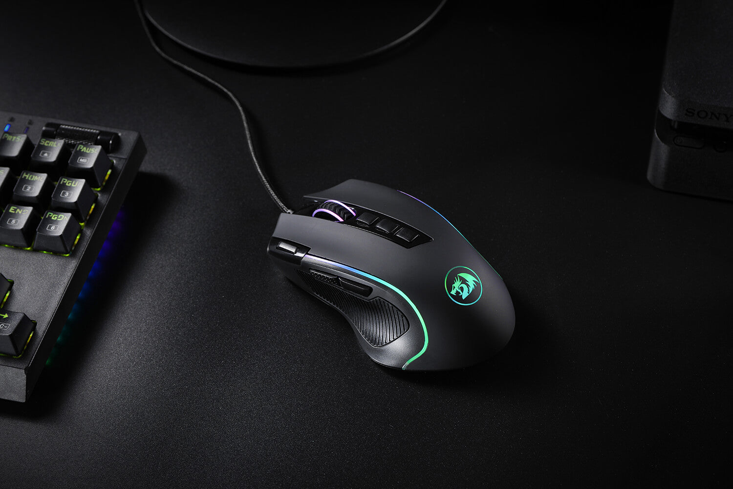 Redragon M612 Predator RGB optical Gaming Mouse