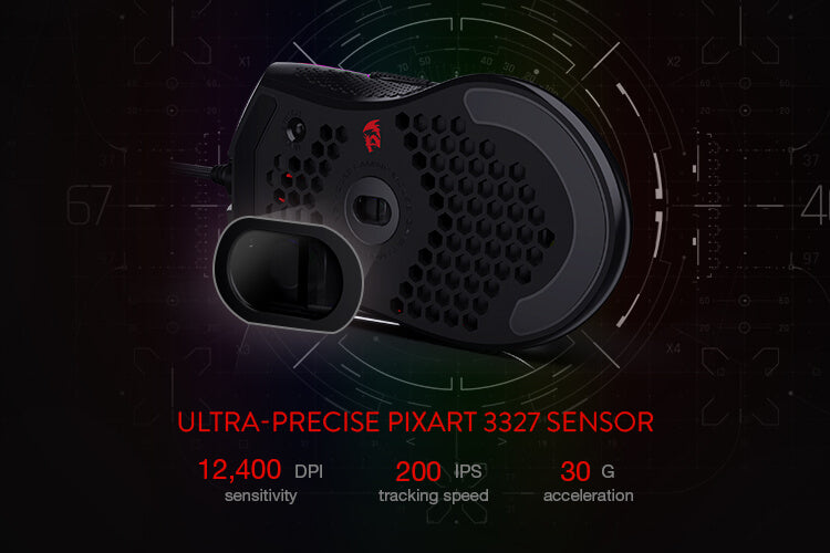 redragon m808 Lightest Gaming Mouse