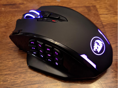 redragon mmo gaming mouse