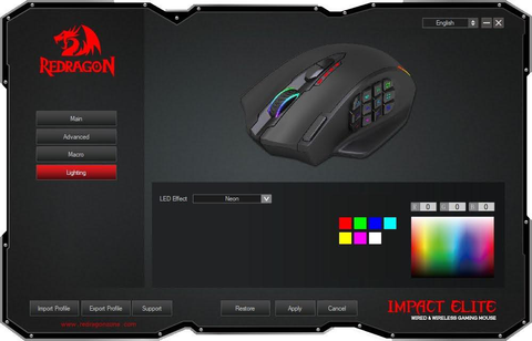 redragon mouse software