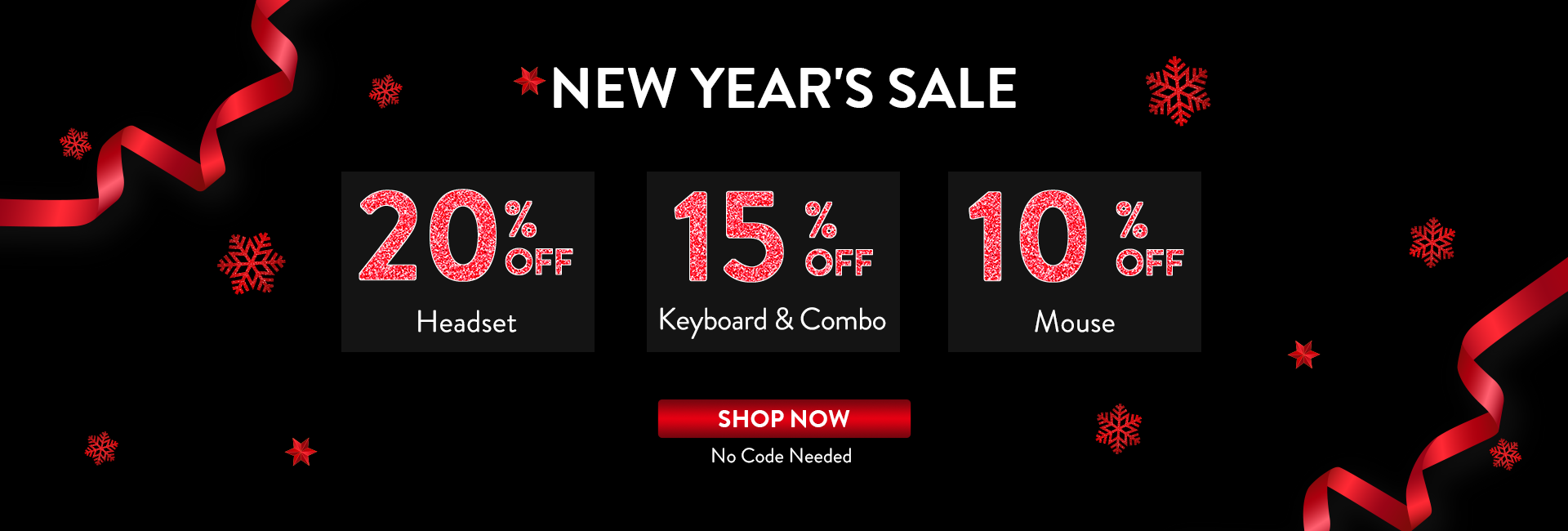 Redragon New Year's sale