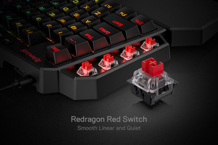 redragon k585 red switches diti