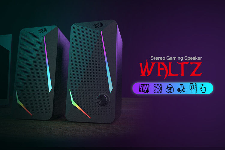 redragon rgb 2.0 Channel PC Computer Stereo Speakers