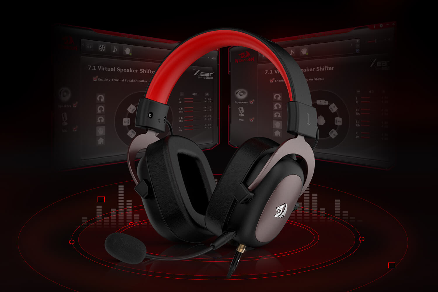 headset redragon h510 zeus (Open-box)