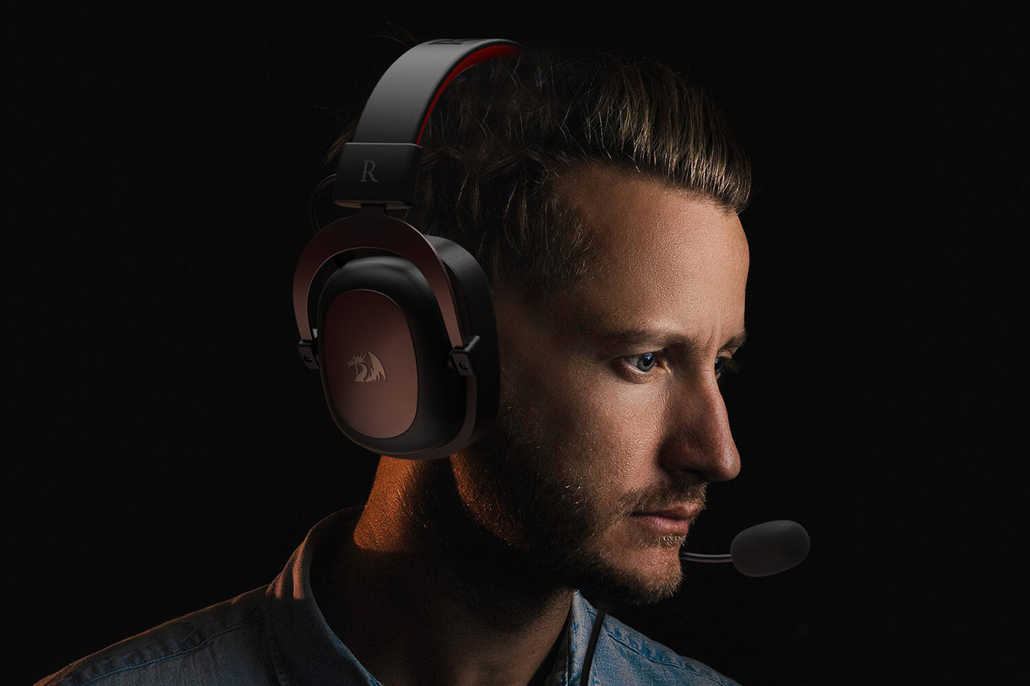 redragon h510 zeus wired gaming headset (Open-box)