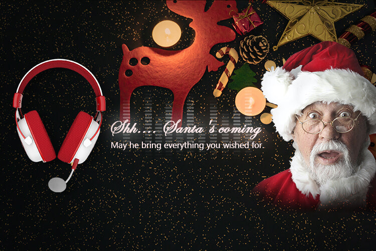 redragon H510 gaming Zeus Christmas Edition