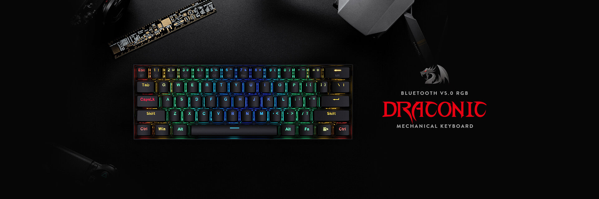 small gaming keyboard DRACONIC K530