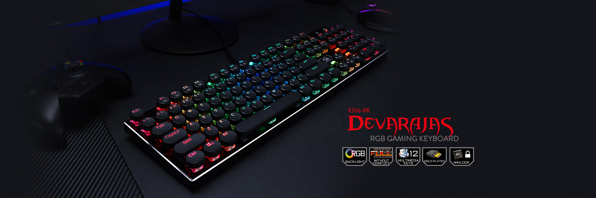 redragon k556-rk gaming keyboard