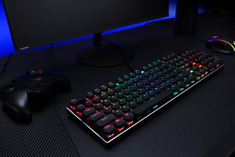 redragon Round Keys Mechanical Gaming Keyboard