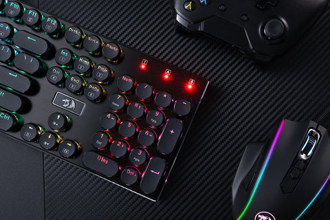 K556-RK RGB LED Backlit Wired Mechanical Gaming Keyboard