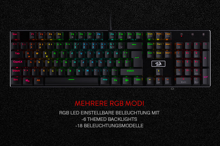 Mechanische Gaming Tastatur