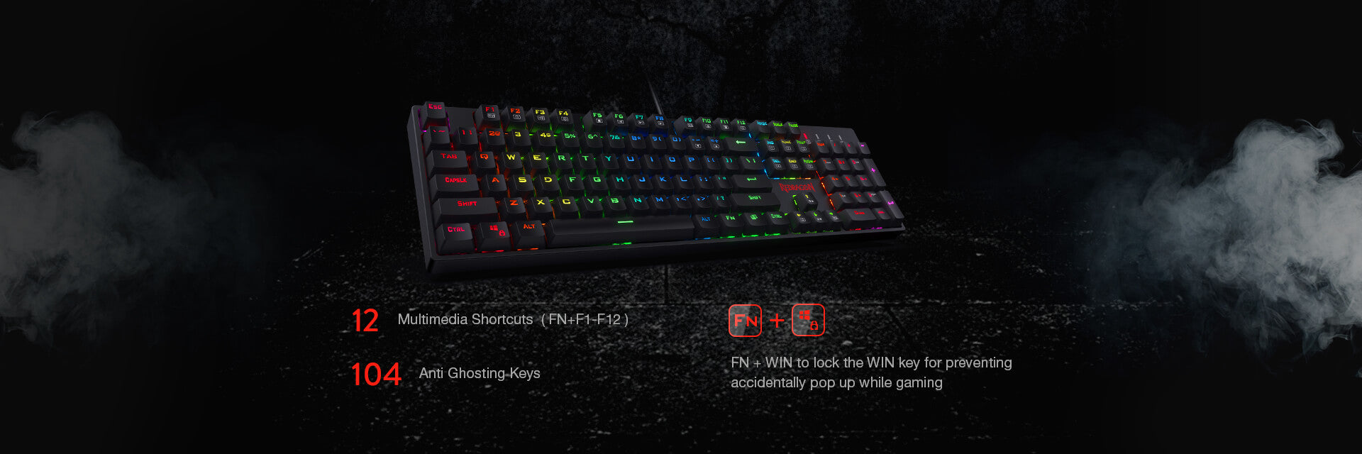 redragon k582-ba combo keyboard and mouse combo