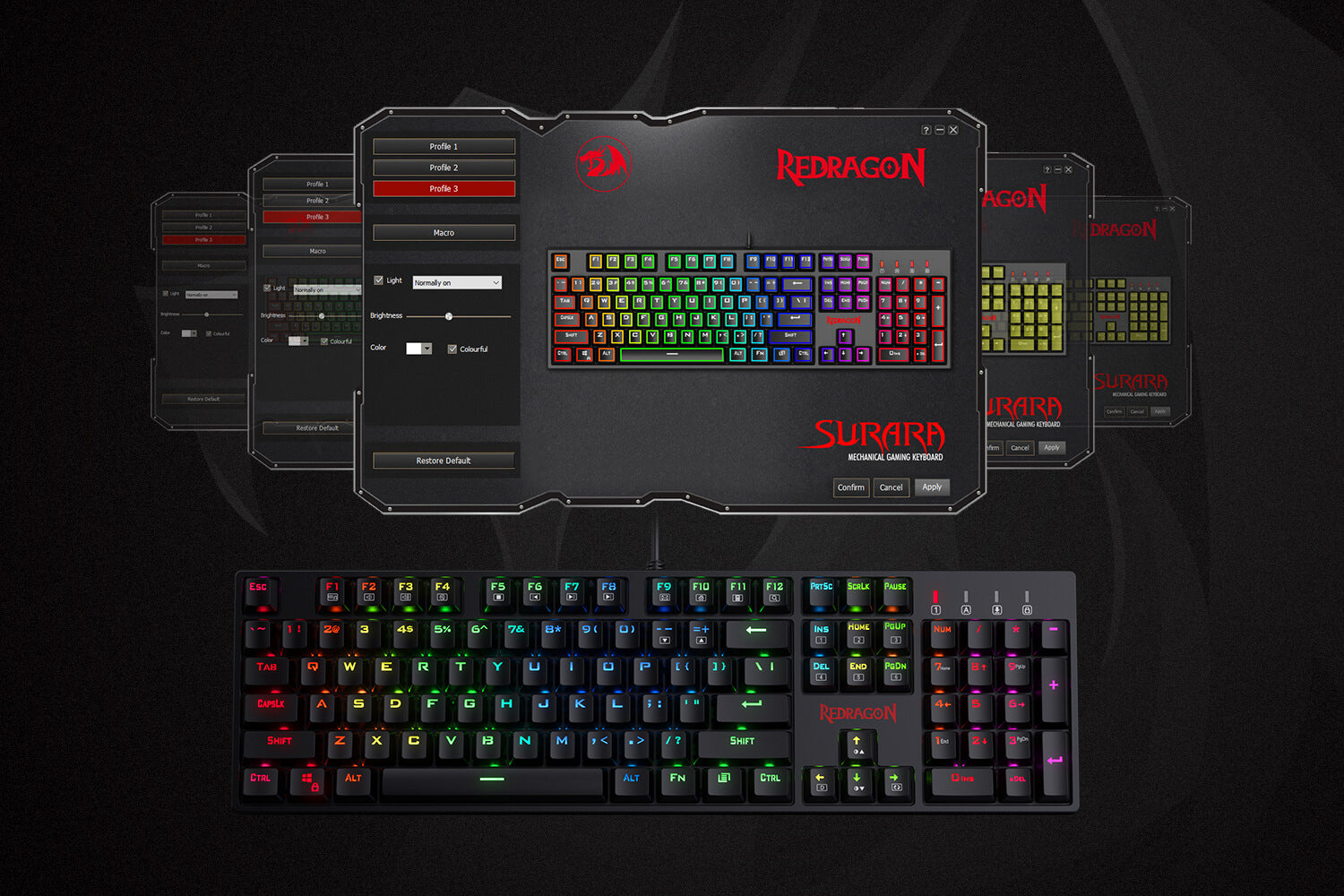 redragon k582-pro optical switches