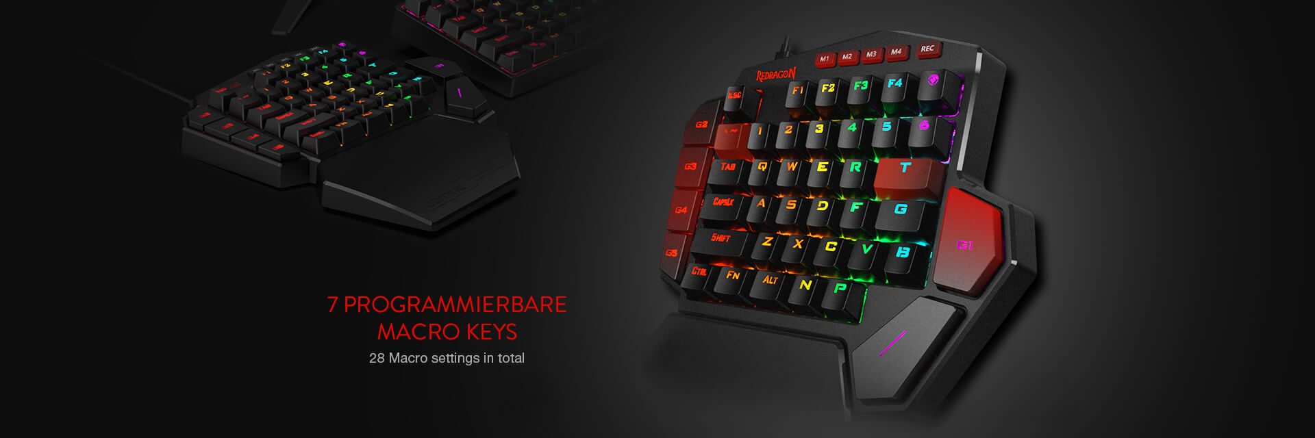 redragon k585 one-handed keyboard