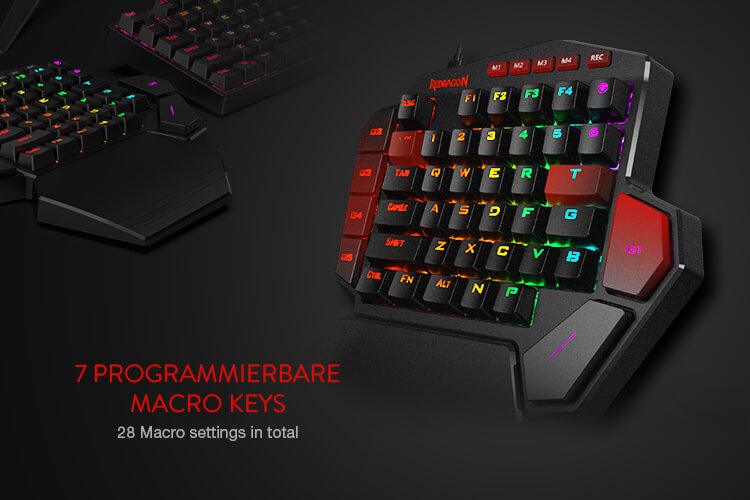 redragon k585 brown switches diti software