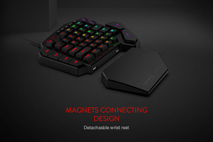 redragon k585 brown switches mini keyboard