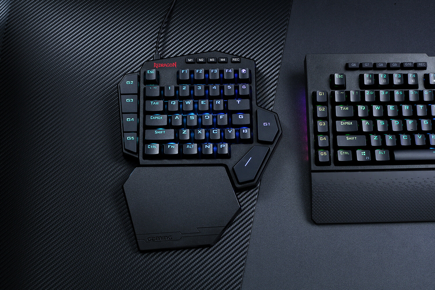 redragon k585 one-handed keyboard one handed mechanical keyboard