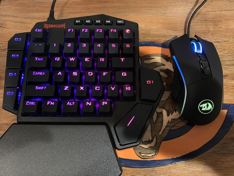 redragon k585 keyboard and m721 gaming mouse