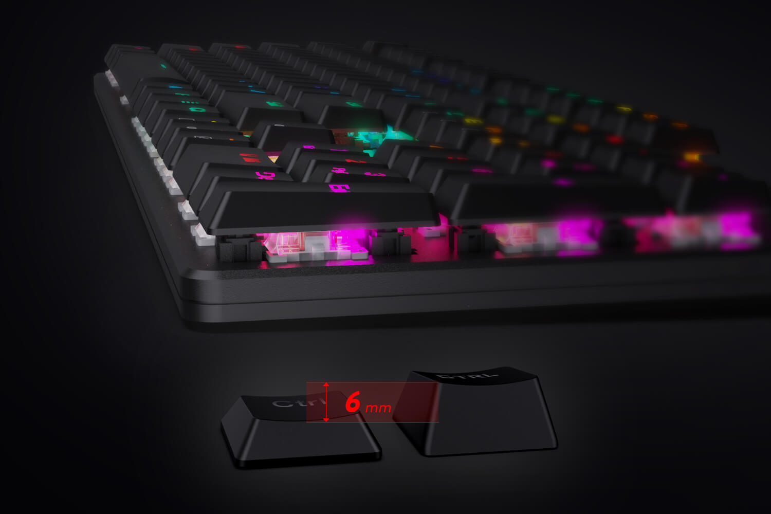 Low Profile Gaming Keyboard