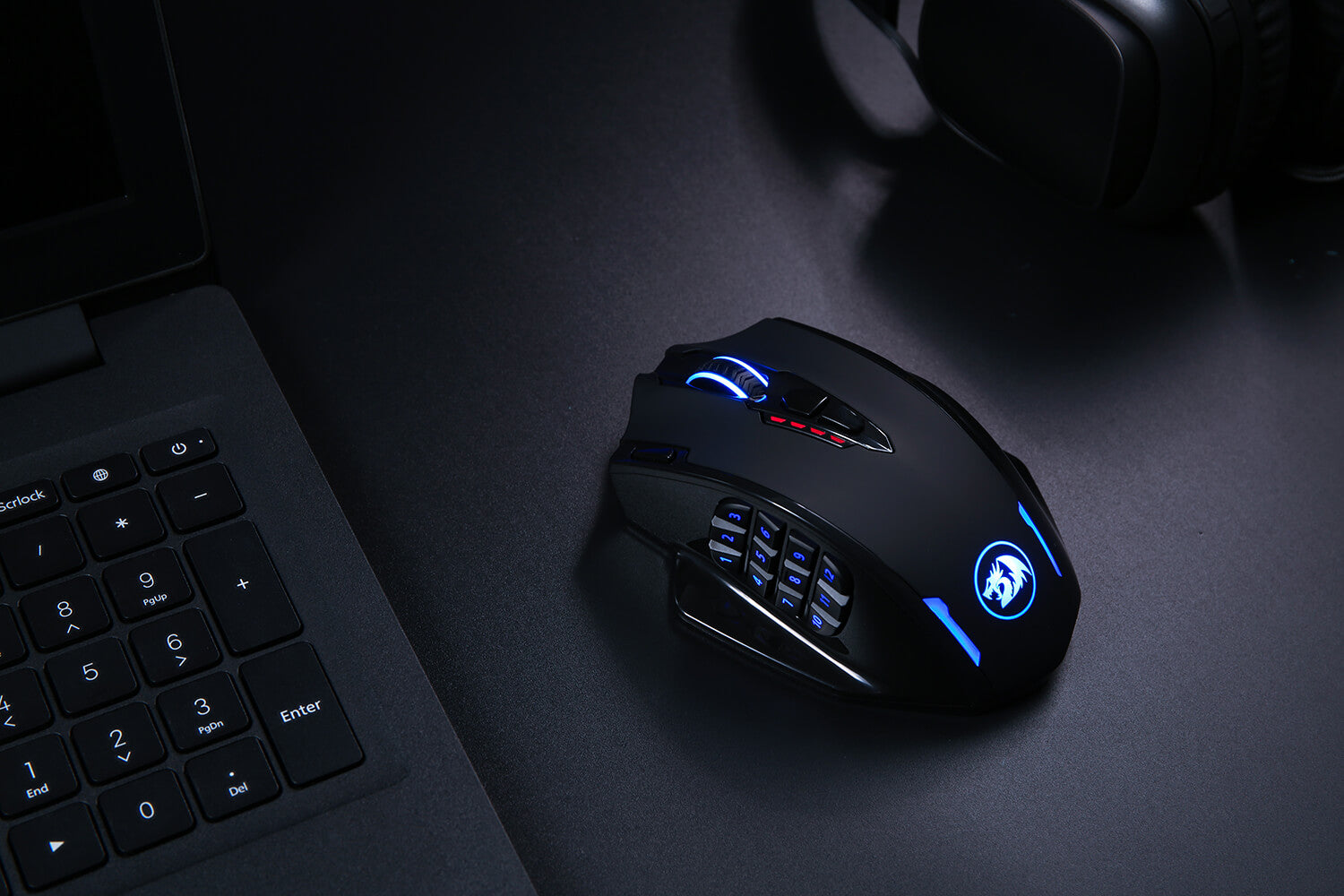 redragon gaming mouse wireless