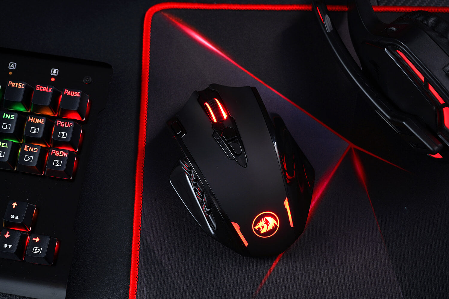 12 Side Buttons MMO Mouse