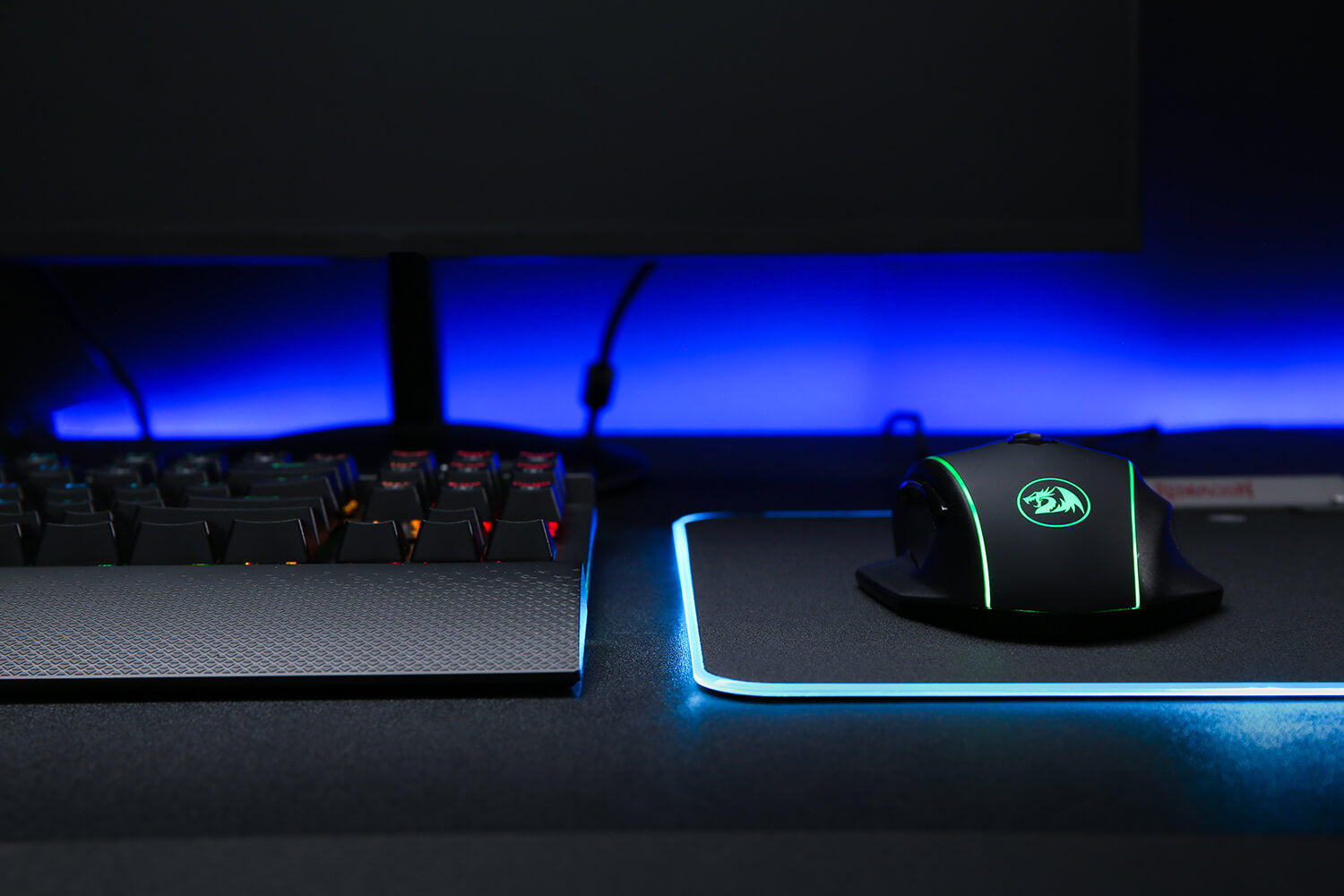LED Lighting Gaming Mouse Pad Mat