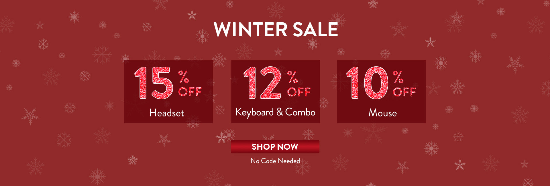 Redragon Winter Sale