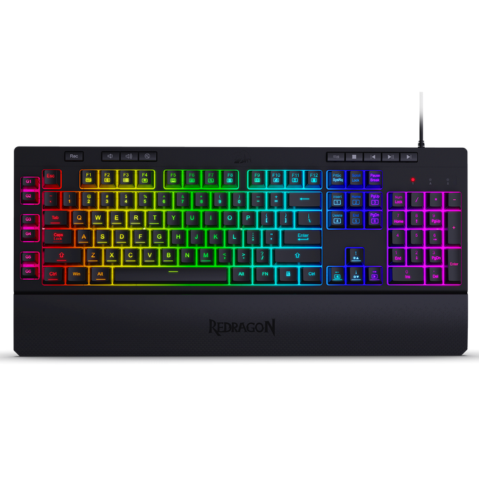 Redragon K512 Shiva RGB Backlit Membrane Gaming Keyboard