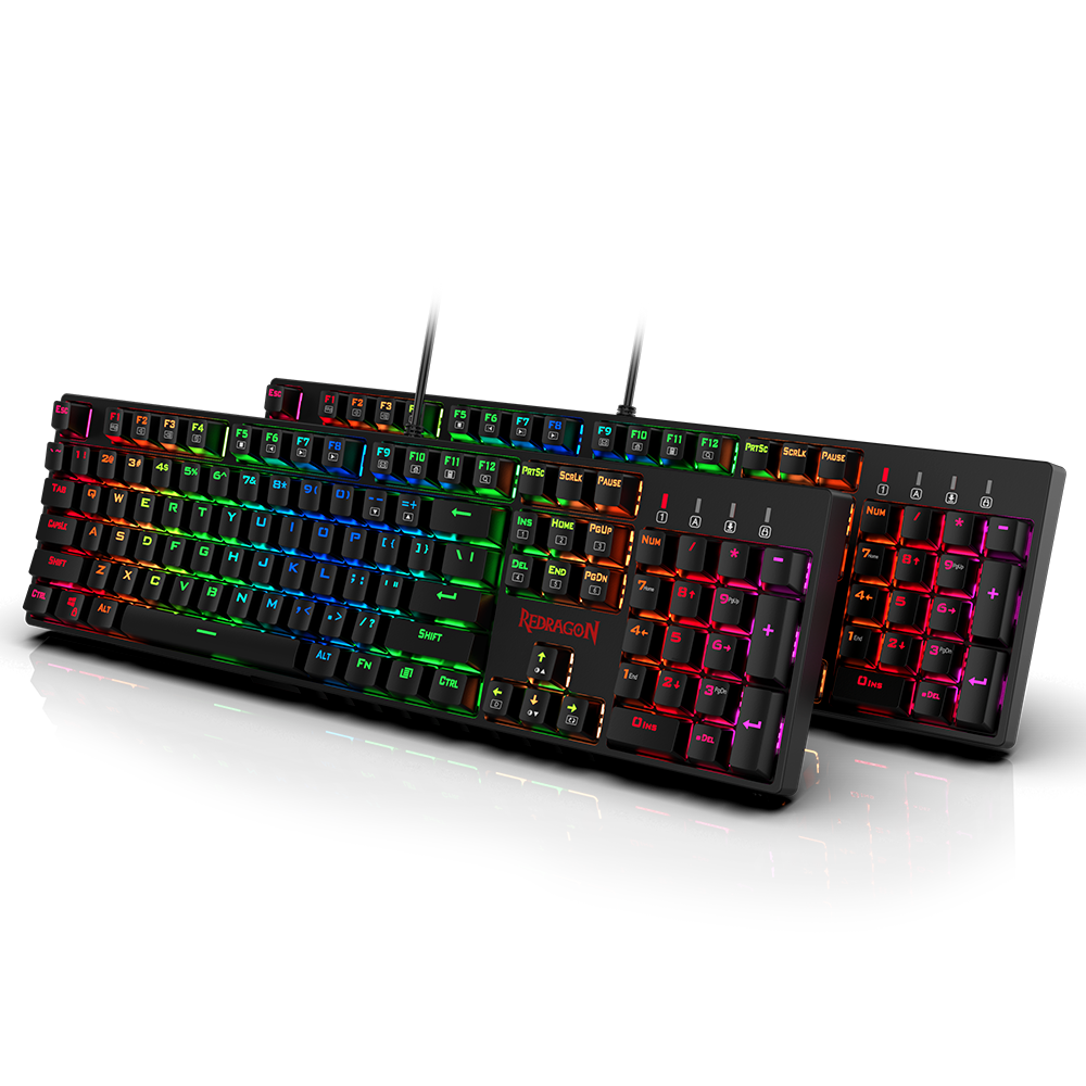 Redragon K582-PRO Mechanical RGB Gaming Keyboard 4