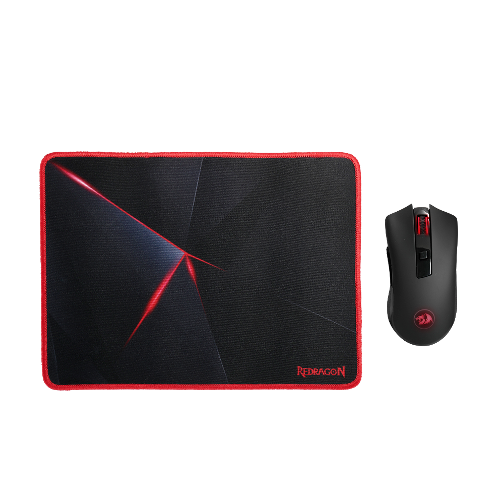 Redragon M652-BA Wireless Gaming Mouse and Mouse Pad Set