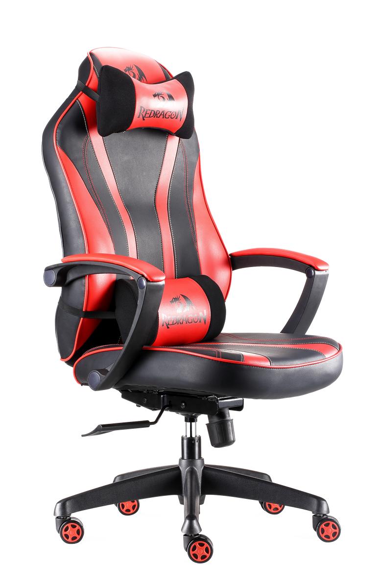 Redragon C101 Gaming Chair Ergonomic Racing Style Pu Leather Swivel Chair